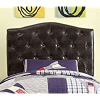 HOMES: Inside + Out ioHOMES Nile II Faux Crocodile Skin Adjustable Headboard, Twin, Brown