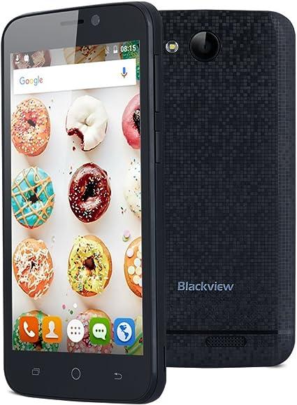 Blackview A5 - Smartphone Libre Android 6.0 (3G, Quad-Core, 4.5 ...
