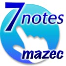 7notes with mazec for Kindle Fire(日本語版)