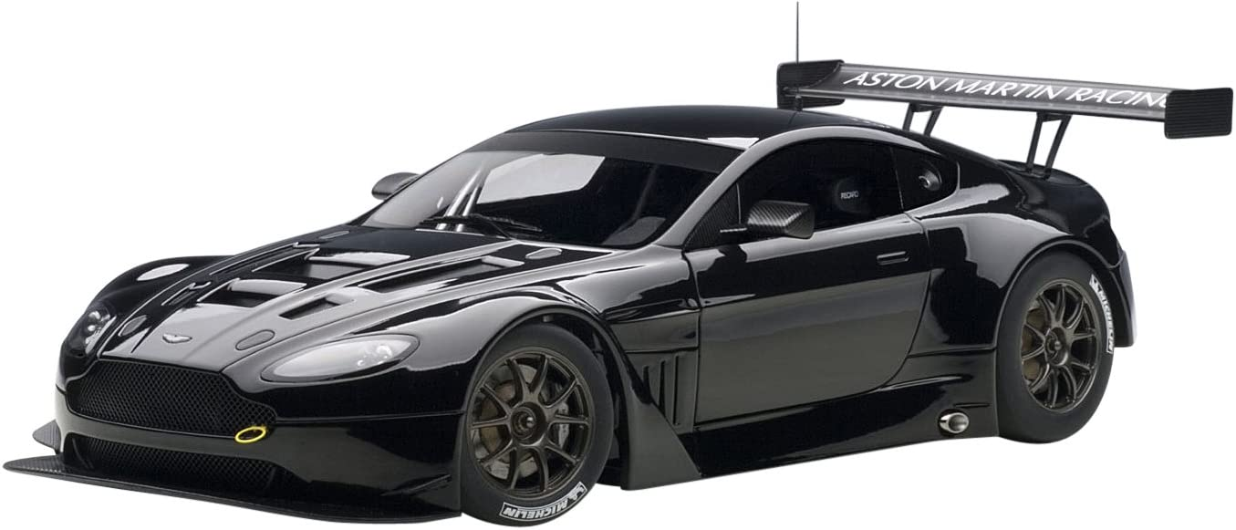 AUTOart 1//18 Aston Martin V12 Vantage GT3 Racing Car Die-Cast Model Green