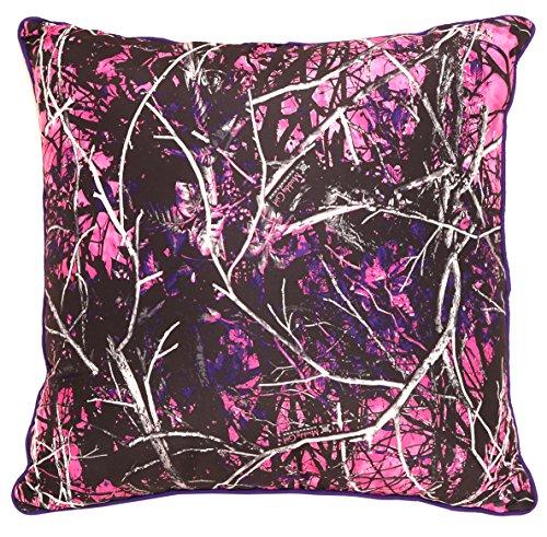 Carstens Muddy Girl Camo Sham Pillow Cover, Euro ()