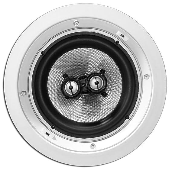 amazon earthquake sound iq cm8dual 2 way in ceiling speaker 10 4 Ohm Speakers amazon earthquake sound iq cm8dual 2 way in ceiling speaker with dual voice coil single home audio theater