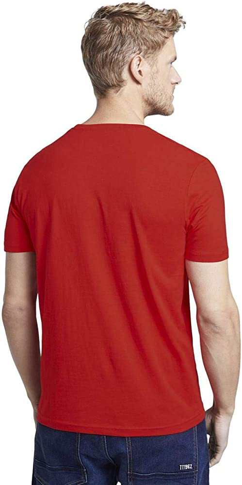 Tom Tailor Logo T-Shirt Camiseta, 12880, L para Hombre: Amazon.es ...