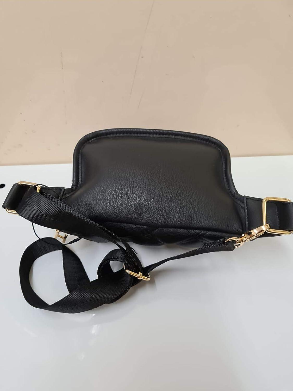 Licensed Primark Harry Potter Hogwarts Crossbody Black Leather Bum Bag Waist Belt Fanny Pack