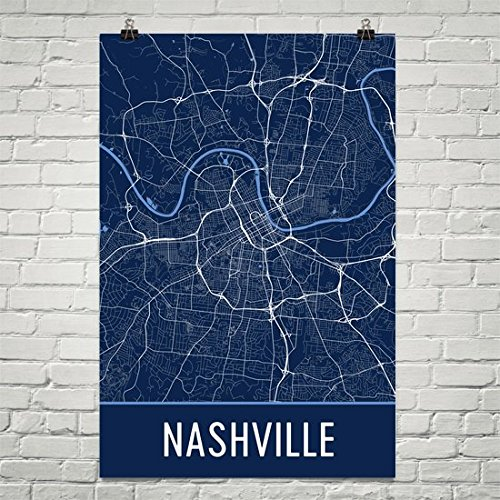 (Nashville Poster, Nashville Art Print, Nashville Wall Art, Nashville Map, Nashville City Map, Nashville Tennessee City Map Art,Nashville Gift,Nashville Decor, (24