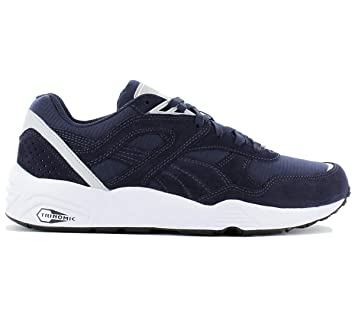 c57856675f48 Puma R698 CORE Blue Men Sneakers Shoes Trinomic  Amazon.co.uk  Shoes ...