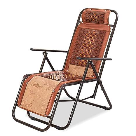 Amazon.com: YZPZDY Silla reclinable de gran tamaño plegable ...