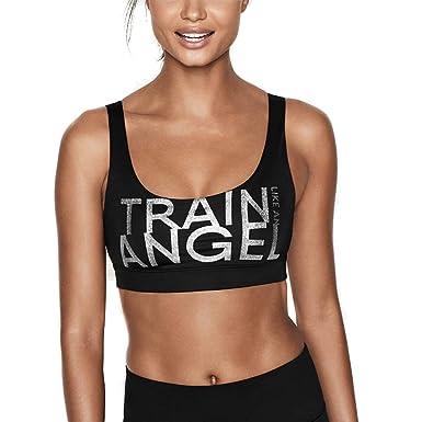 9e81b92dfbd55 Victoria s Secret Victoria Sport Angel Bralette Sports Bra Medium (Medium)   Amazon.co.uk  Clothing
