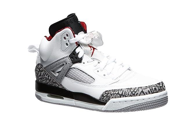 best service 40f3c c9e09 Amazon.com   Jordan Air Spiz ike (Kids) White   Basketball
