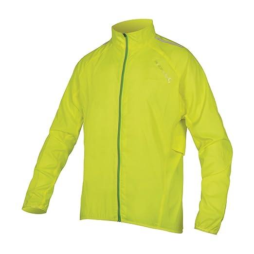 73ce57853 Endura Pakajak II Ultra Packable Showerproof Cycling Jacket Hi Viz Yellow