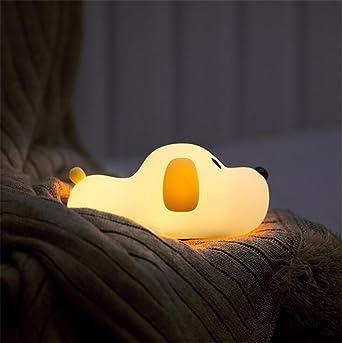 LED Nachtlicht Kinder Baby Nachtlampe mit Touch Schalter Tragbare Silikon  Nachtlichter für Babyzimmer, Schlafzimmer, Wohnräume, Camping, Picknick ...