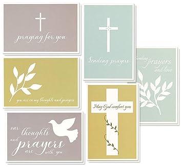 sympathy cards 48 pack sympathy cards bulk greeting cards sympathy religious cross - Bulk Sympathy Cards