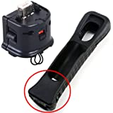 Motion Plus adapter for Nintendo Wii Remote black