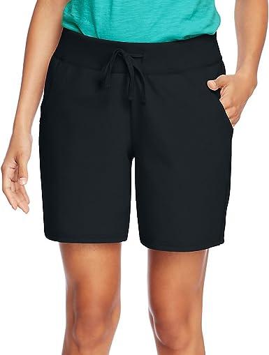 Hanes Women/'s Jersey Pocket Short