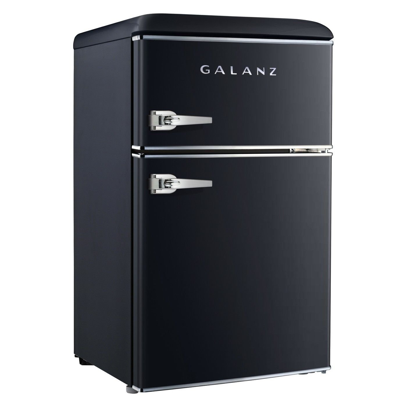 Galanz 3.1 cu ft Black Retro Mini Fridge