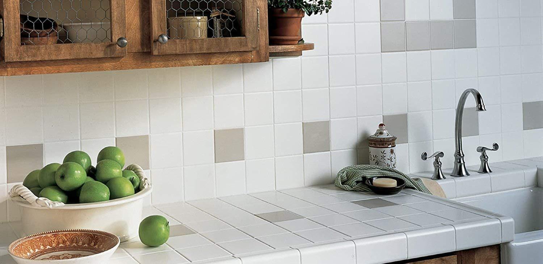 4x4 White Glossy Finish Ceramic Subway Tile Shower Walls Backsplash Made in USA (12.5SF Full Box 100PCS) by Squarefeet Depot (Image #2)