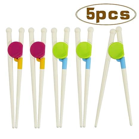 Amazon.com: WTSHOP 5 pares de palillos de entrenamiento para ...