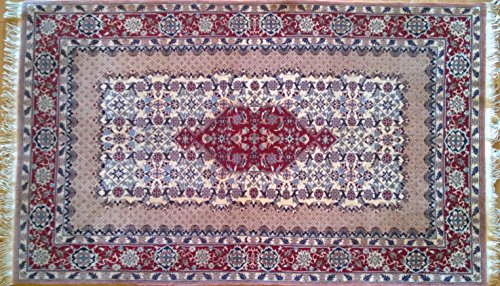 Handwoven Nain Carpet Area Rug 3.04 x 4.92 ft.