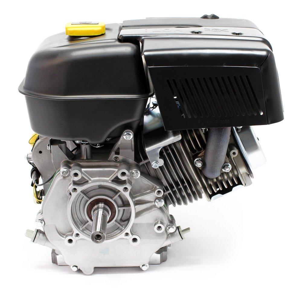 Motor de gasolina LIFAN 190 10.5kW (14.3PS) 4 tiempos Arranque manual con refrigeración por aire de 25mm: Amazon.es: Jardín