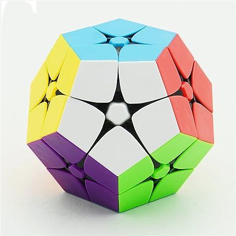 Faironly 2 x 2 Megaminx cubo de velocidad Dodecahedron Puzzle Cubos Negro Navidad cumpleaños regalo para niños: Amazon.es: Hogar