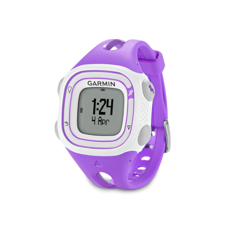 Garmin Forerunner 10 GPSWatch (Violet)-(Certified Refurbished)