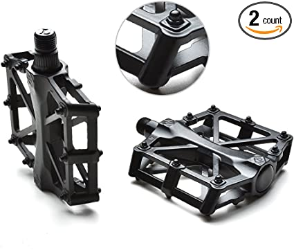 "ALLOY BLACK 9//16/""  Plat Form Bike Pedal for Track  BMX MTB Bicycle"