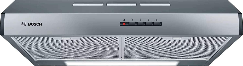 Bosch Serie 4 DUL63CC55 - Campana convencional, 60 cm, Acero inoxidable [Clase de eficiencia energética D]