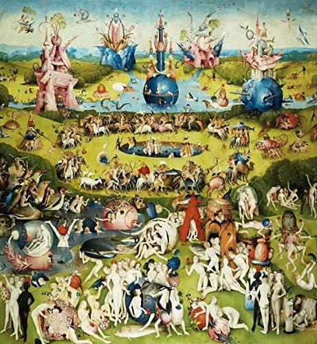 1art1 El Bosco - El Jardín De Las Delicias, 1500, 2 Partes Póster Fotomural (250 x 240cm): Amazon.es: Hogar