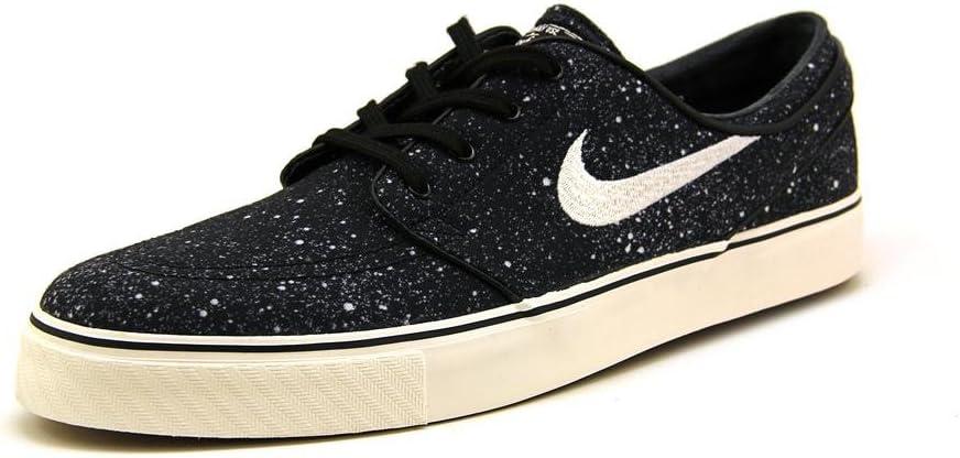 Descompostura inversión servidor  Nike Sb Zoom Stefan Janoski Premium - Black/Ivory-Gum Light Brown, 13 D UK:  Amazon.co.uk: Shoes & Bags