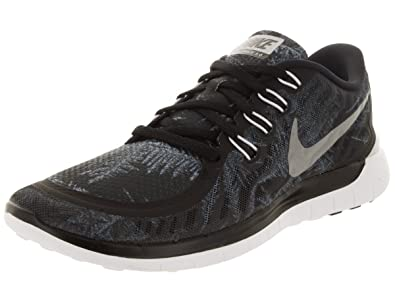 Amazon.com | Nike Free 5.0 Solstice Ltd Running Shoes Current Model 2016  black/white | Road Running