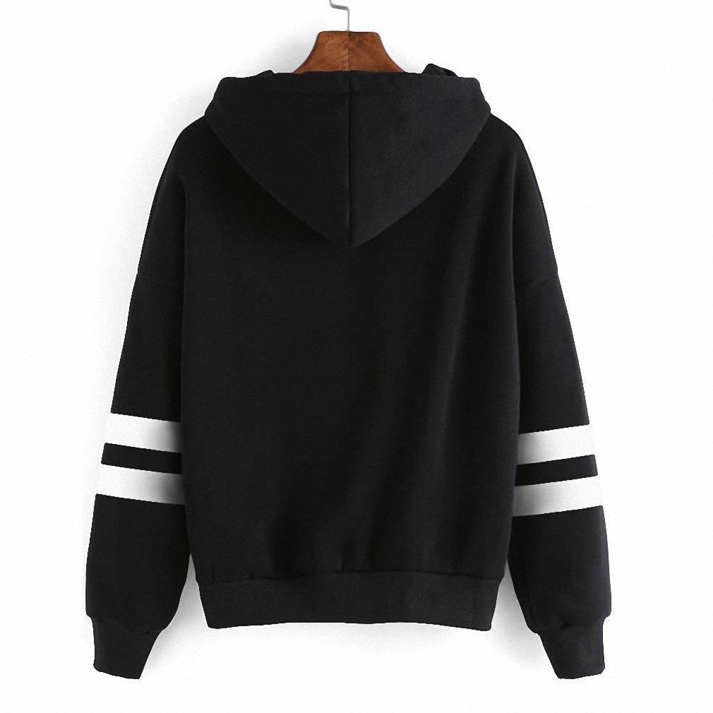 Halloween Hoodies Sweatshirts NEW Autumn Winter Long Sleeve Loose Tracksuit at Amazon Womens Clothing store:
