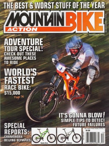 - Mountain Bike Action, December 2008 Issue