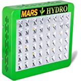 Marshydro Reflector 240W LED Grow Light with Full Spectrum for Hydroponic Indoor Garden and Greenhouse Veg and Bloom Switches Added(99W±5%True Watt)