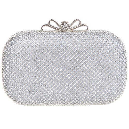 Fawziya Rhinestone Crystal Clutch Evening product image
