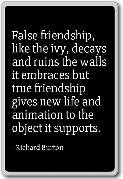 com false friendship like the ivy decays and r