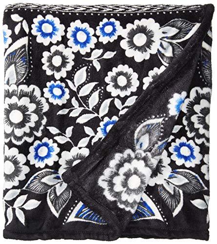 (Vera Bradley Women's Throw Blanket, Snow Lotus)