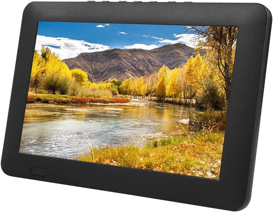 TV Digital portátil de 9 Pulgadas DVB-T/ATSC/ISDB, 1080P HD TFT LED Reproductor de televisión de TV analógica Digital móvil, Entrada de Video/Canal, Tarjeta USB/TF/RMVB/AVI/MPEG/MKV/MOV (ATSC): Amazon.es: Electrónica