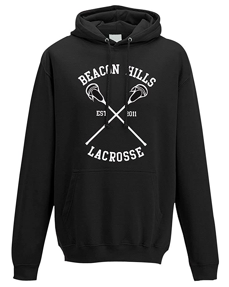 Moda Sudaderas con Capucha Hombre Hoodie Sudadera Lacrosse de Beacon Hills Stilinski Lahey Mccall Sweatshirt Outerwear Tops: Amazon.es: Ropa y accesorios