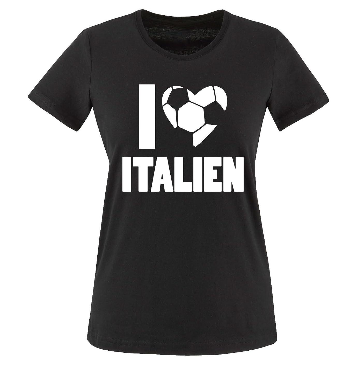 I Love Italien | EM | WM | Damen T-Shirt Comedy Shirts