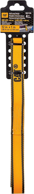 - 980113N Cat 4 Piece Yellow//Black Soft Hook Set 1000//3000 12 Feet x 1 Inch