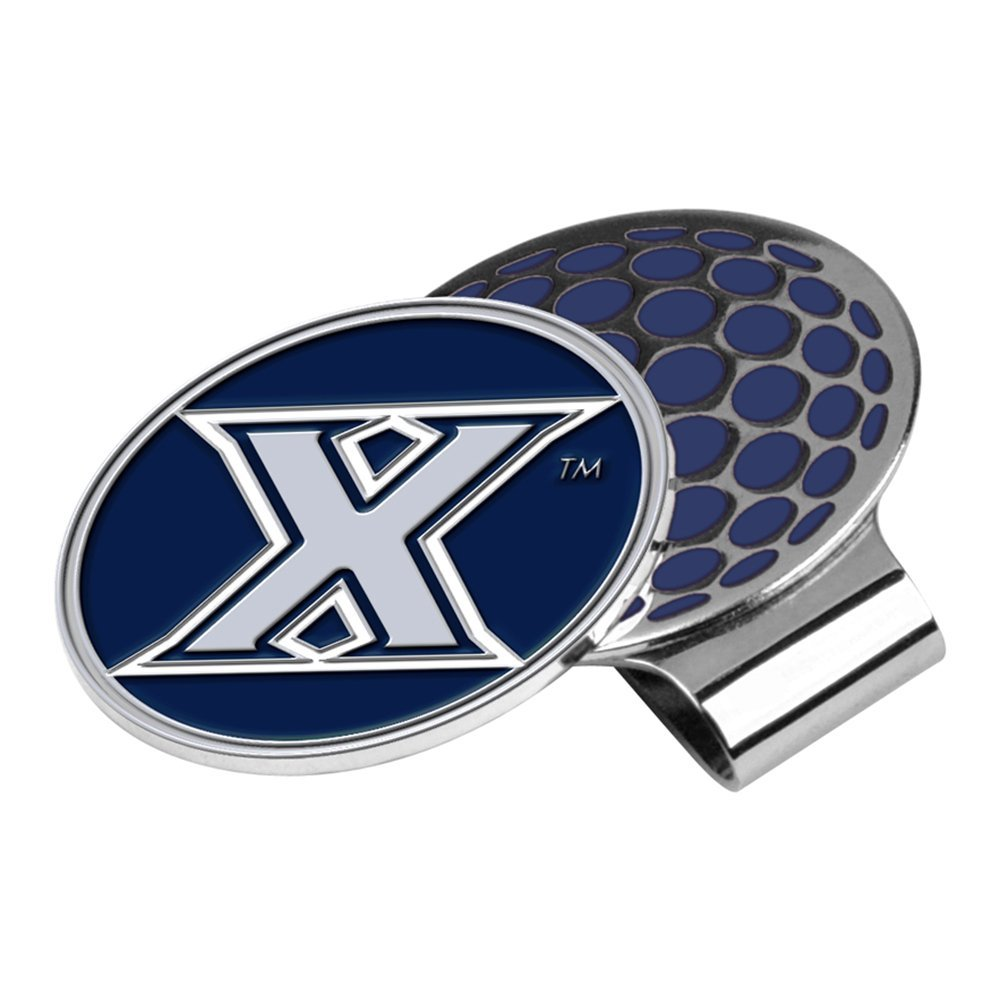 LinksWalker NCAA Xavier Musketeers Golf Hat Clip with Ball Marker