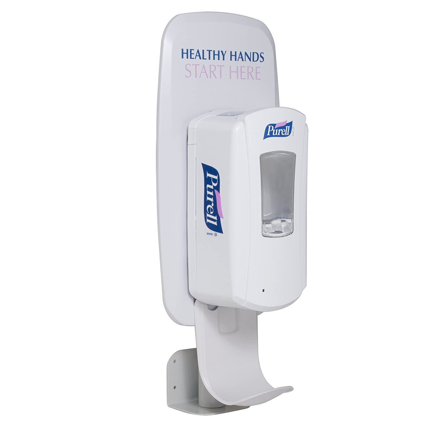 Purell Universal Wall Or Counter Mount Dispenser Stand For Purell