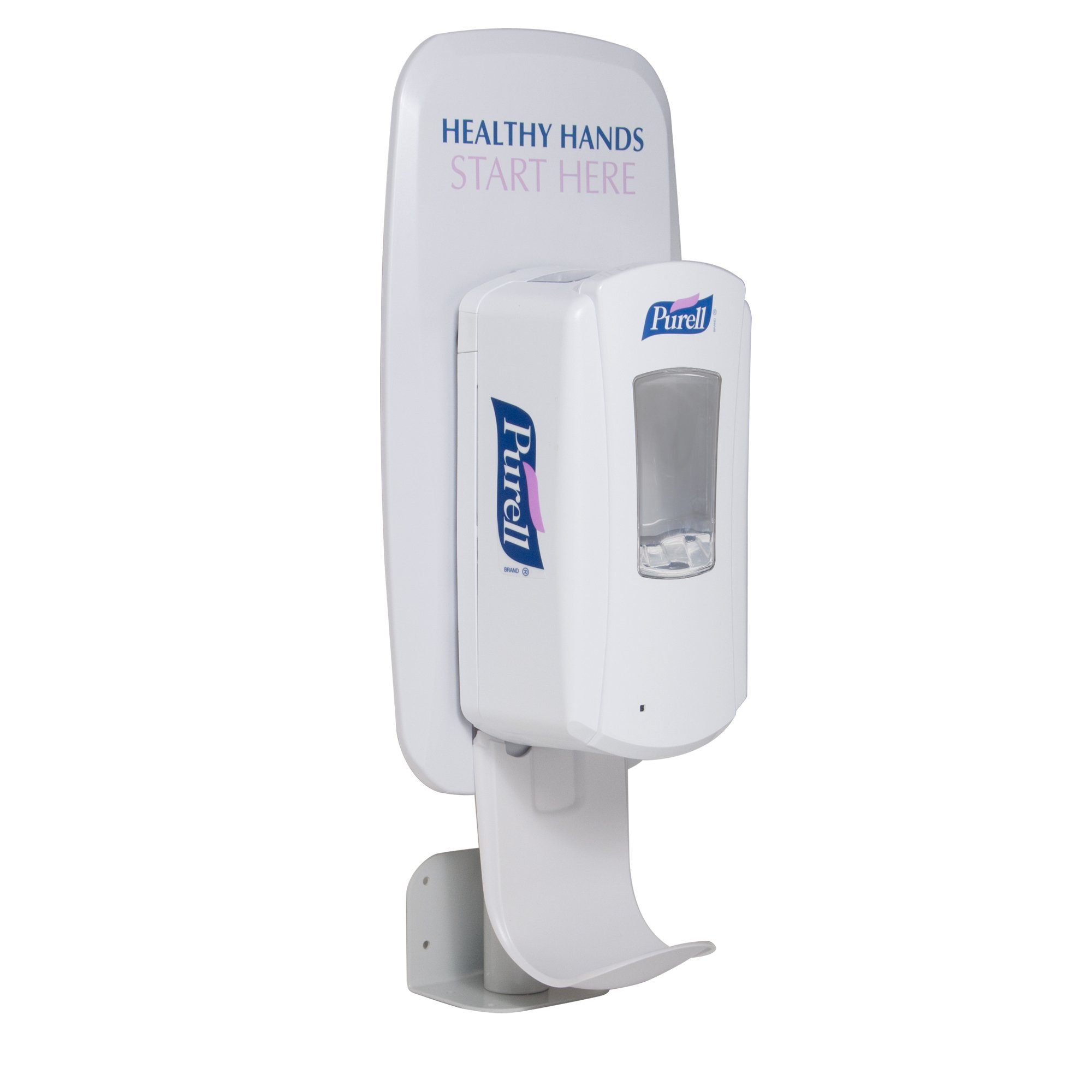 PURELL Universal Wal or Counter Mount LTX or TFX Dispenser Stand, PURELL LTX and TFX Touch-Free Style Dispensers Sold Separately - 2427-DS