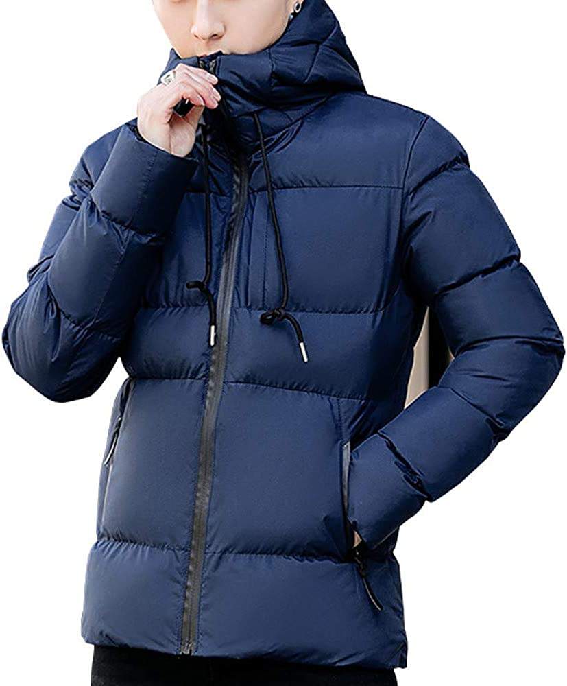 Mens Classic Hooded Puffer Jacket