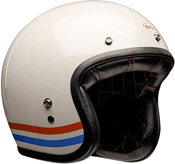 Bell casco abieto cafe racer