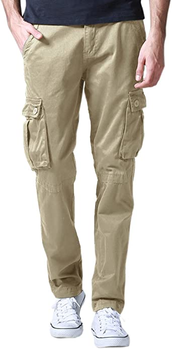 Match Pantalon Cargo Vintage Pantalon de Travail pour Homme #6531