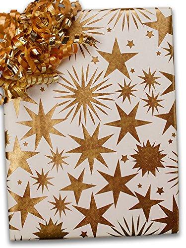 24'' X 100' #x6362 Stargaze - Gift Wrap Christmas by Paper Mart