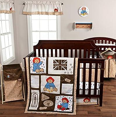 Trend Lab 3 Piece Paddington Bear Crib Bedding Set
