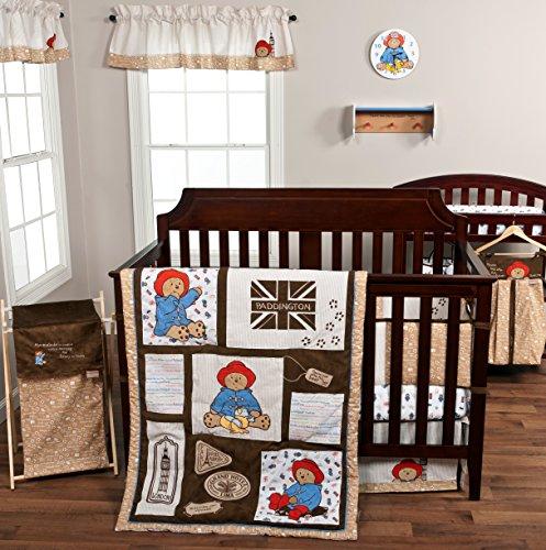 Trend-Lab-3-Piece-Paddington-Bear-Crib-Bedding-Set