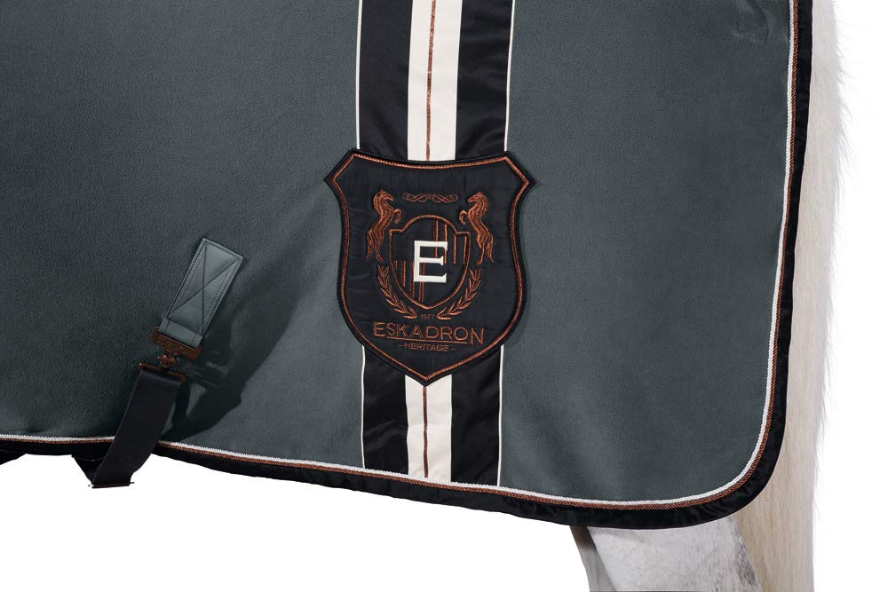 Eskadron Abschwitzdecke Fleece Stripe Heritage Herbst//Winter 18